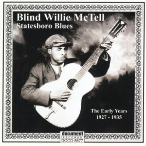 Stateboro Blues Blind Willie McTell Record Cover Album