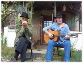 Blues Guitar Music Performance - Acoustic Blues Travellers