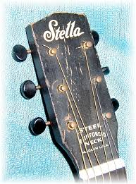 Stella Guitar Headstock