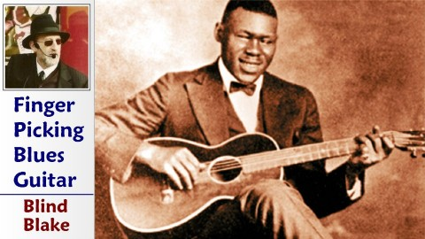 the Ragtime Guitar Of Blind Blake