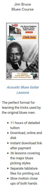 Blues Course - Jim Bruce Button