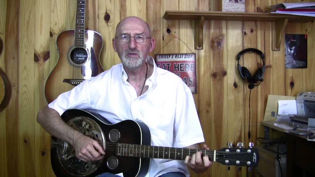 beginning fingerstyle acoustic blues guitar lessons with pdf tabs