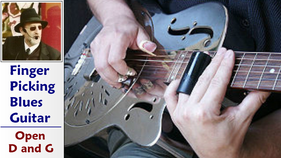Blues picking course