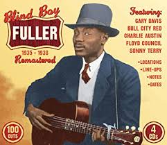 BB Fuller - fingerstyle blues guitarist