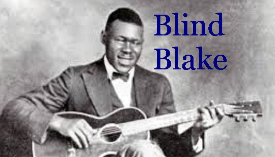 blues fingerpicking tabs - blake's west coast blues