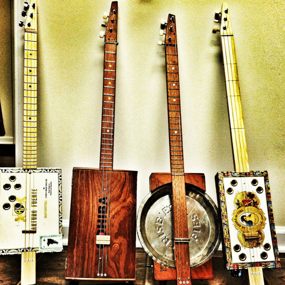 open guitar tunings - cigar box guitars