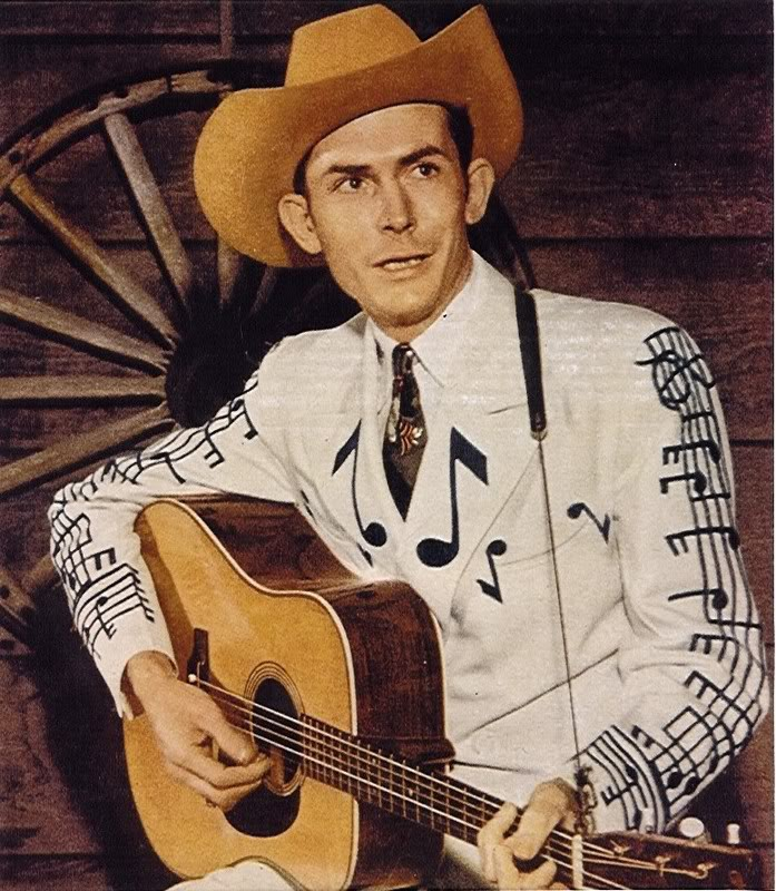 Hank Williams - country guitar player
