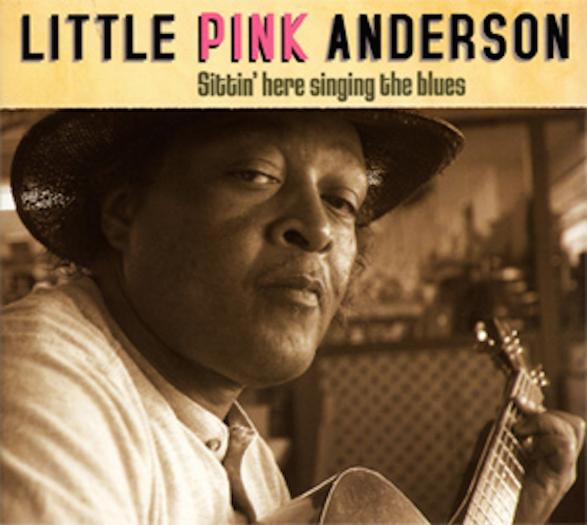 Little Pink Anderson Album Cover